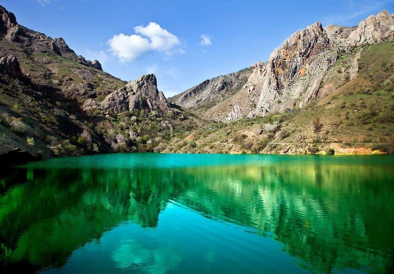 Як озеро панагія виглядало до обміління