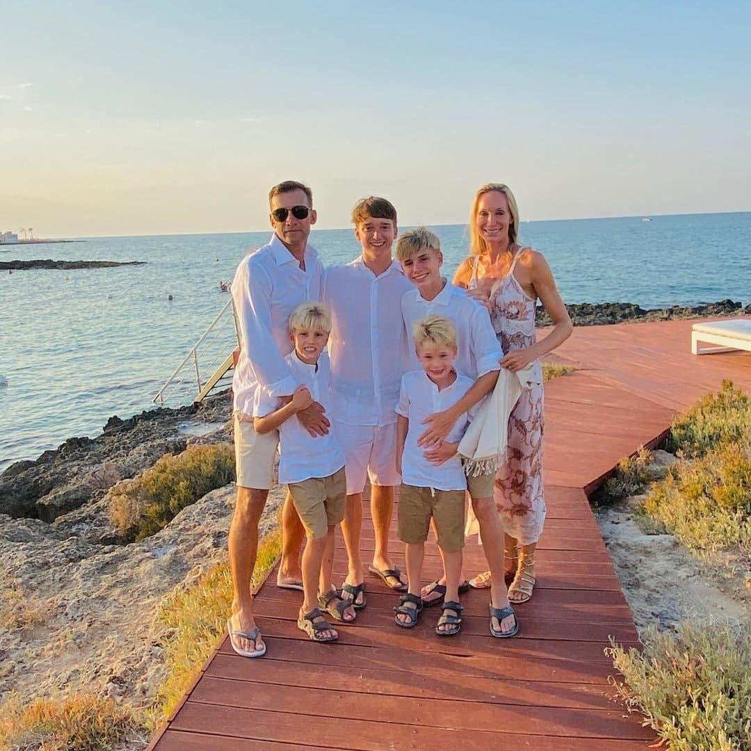 Андрій Шевченко та його сім'я